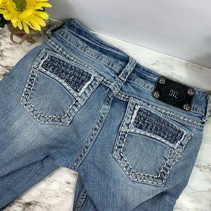 Embellished Light Wash Miss Me Jeans